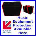 Amp, Cab & Music Equipment Covers & Bags Available Here
